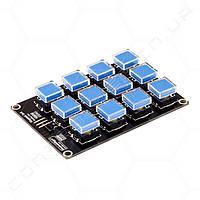 Модуль механической клавиатуры RobotDyn 3х4