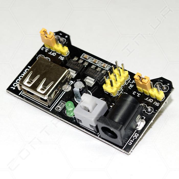 Модуль питания Power MB V2 для беспаечных макетных плат