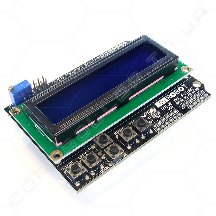 Модуль расширение LCD Keypad Shield
