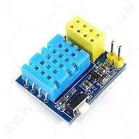 Модуль с датчиком температуры DHT11 для ESP-01 ESP8266