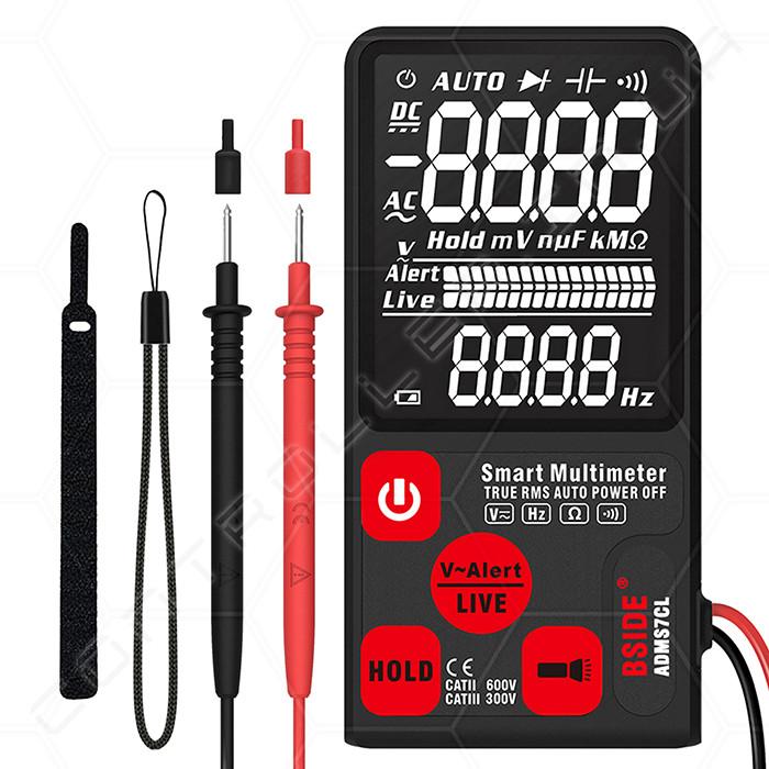 Мультиметр BSIDE ADMS7CL ультрапортативный цифровой
