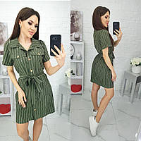 """Платье летнее софт (44-48) """"Shura"""" 2P/NR-5601"""