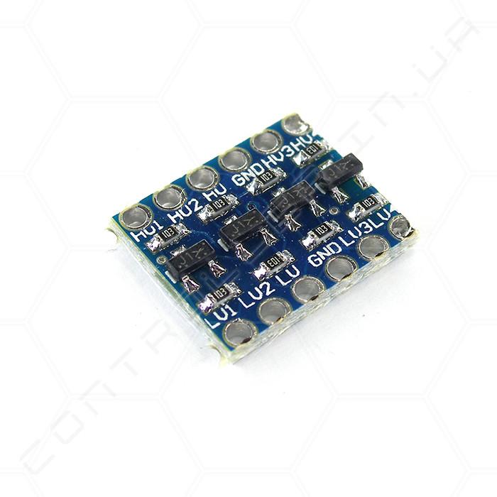 Преобразователь логических уровней двунаправленный 4 канала i2c SPI UART  5В