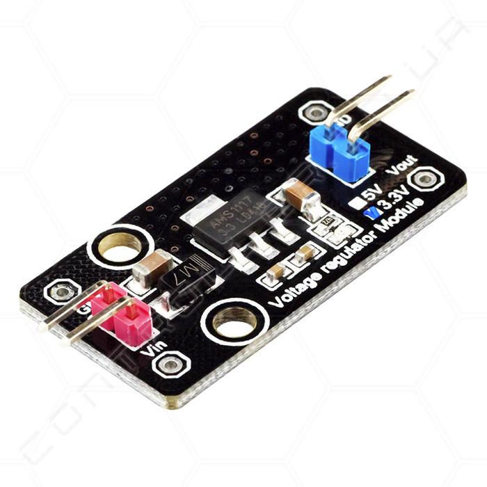 Регулятор напряжения AMS1117 3.3В RobotDyn