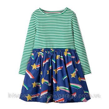 Уценка (дефекты)! Платье для девочки Падающая звезда Jumping Meters