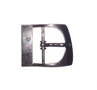Пряжка для обуви  23 мм цвет темный никель