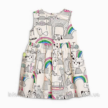 Уценка (дефекты)! Платье для девочки Радуга Little Maven