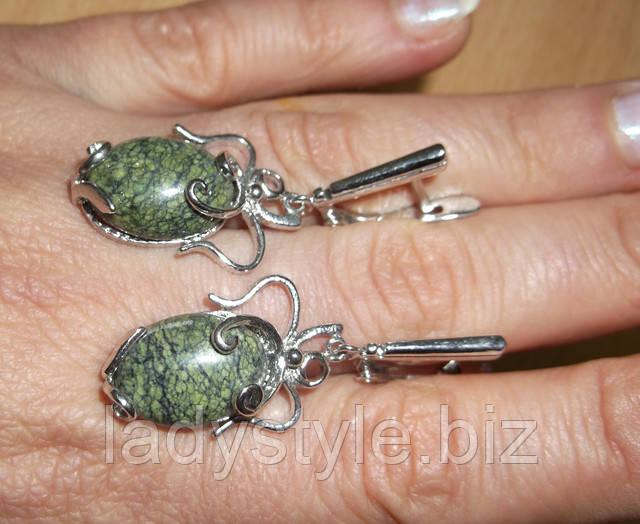 горный хрусталь серьги змеевик кольцо перстень сапфир топаз кианит аппатит купить украшения подарок талисман камень оберег