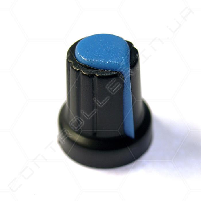 Ручка с указателем синяя