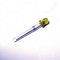 Светодиод желтый 3мм