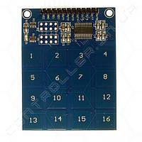 Сенсорная емкостная клавиатура 16 клавиш 229BSF