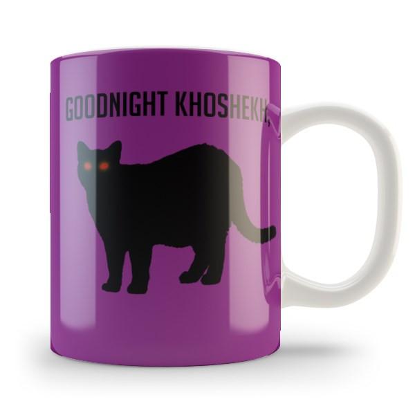 Кружка чашка Goodnight, Khoshekh Найт Вейл