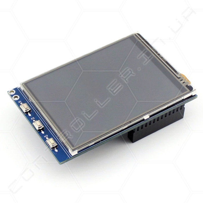 Экран TFT цветной графический с тачем для Raspberry Pi 320x240 3,2