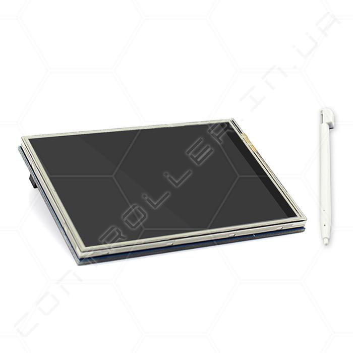 Экран TFT цветной графический с тачем для Raspberry Pi 480x320 3,5