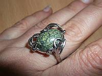 """Кольцо со змеевиком """"Локон"""" размер  17 от студии LadyStyle.Biz"""