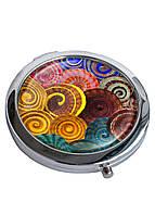Зеркальце косметическое DevayS Maker DM 01 D 7 см Спирали Разноцветное 22-08-457, КОД: 1238880