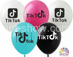 """Латексные шары SHOW Tik-Tok  12"""" (30 см), 10 шт"""