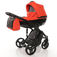 Детская коляска 2 в 1 Tako Junama Diamond 03 Красная 13-JD03, КОД: 287192