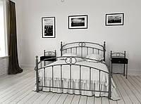 Кровать Металл-Дизайн Toskana 160 см х 200 см Серый hubkmJk53554, КОД: 1679258