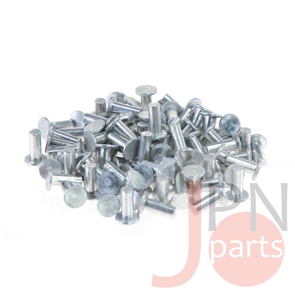 Заклепка алюминиевая 6X15 A091/A092 CANTER 659/859 (пачка 100шт) (ISUZU 1097320290) JAPACO