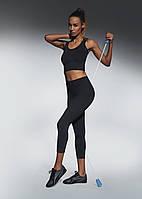 Женские спортивные леггинсы Bas Bleu Forcefit 70 L Черный bb0060, КОД: 951398