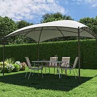 Павильон садовый стальной 3 х 4 м белый