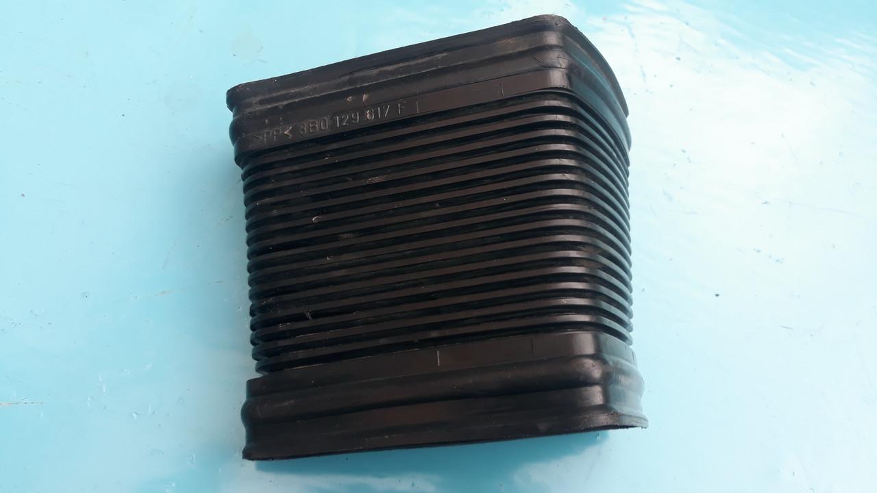 Гофра патрубка воздуховода воздухозаборника воздушного фильтра пассат б5+ superb passat b5 fl + 3b0129617f