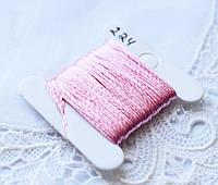 Мулине имитация шелка, 4м, 6 сложений, нежно розовый