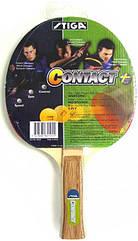 Ракетка для настольного тенниса Stiga Contact 5281, КОД: 1552405