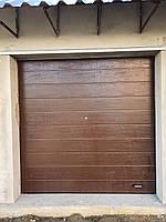 Секционные гаражные ворота DoorHan 2500*2500 (коричневый цвет), фото 2