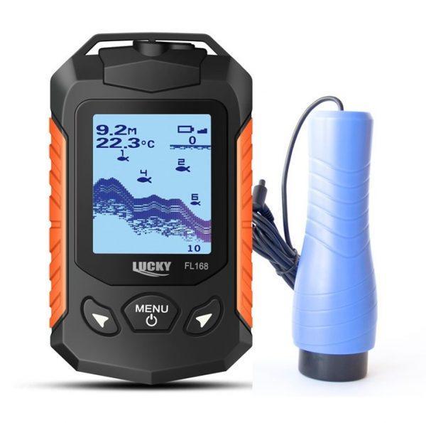 Ехолот бездротовий Lucky FL168-Ice кольоровий екран для підводної риболовлі