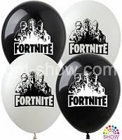 """Латексные шары SHOW 12"""" (30 см) Fortnite, 10 шт"""