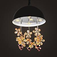 Хрустальная люстра NORDIS LED LIGHTING 8973-350mm-BK, КОД: 130722