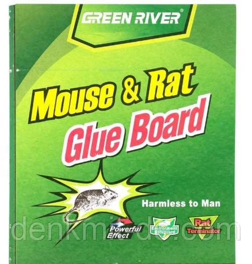 Клеевая ловушка для грызунов Green river Книжка 30*21 см. большие