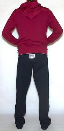 Чоловічий спортивний костюм з капюшоном soccer 11485 (M-XXL), фото 3