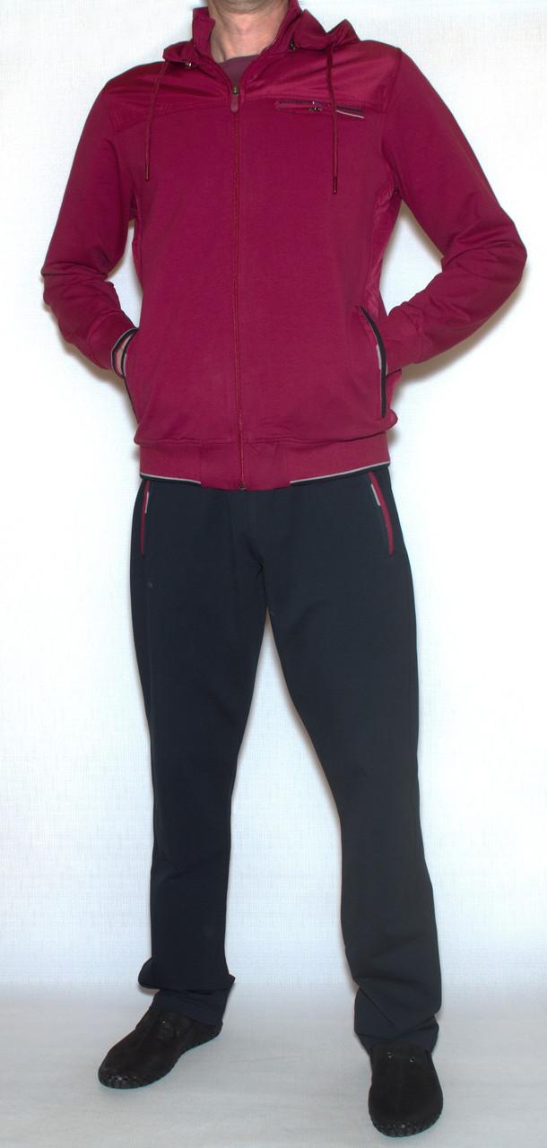 Чоловічий спортивний костюм з капюшоном soccer 11485 (M-XXL)
