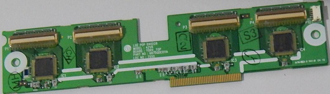 Buffer Board 6870QDE011A для телевизора  Samsung PS42C430A1W