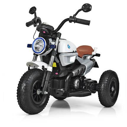 Детский трехколесный электромотоцикл BMW Bambi M 3687AL-1, фото 2