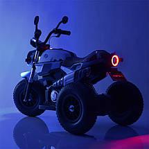 Детский трехколесный электромотоцикл BMW Bambi M 3687AL-1, фото 3