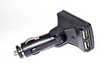 Автомобильный FM-трансмиттер модулятор CM i10ABT, Автомодулятор 2USB, AUX, micro SD, фото 4