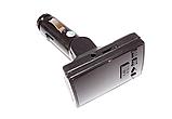 Автомобильный FM-трансмиттер модулятор CM i10ABT, Автомодулятор 2USB, AUX, micro SD, фото 6