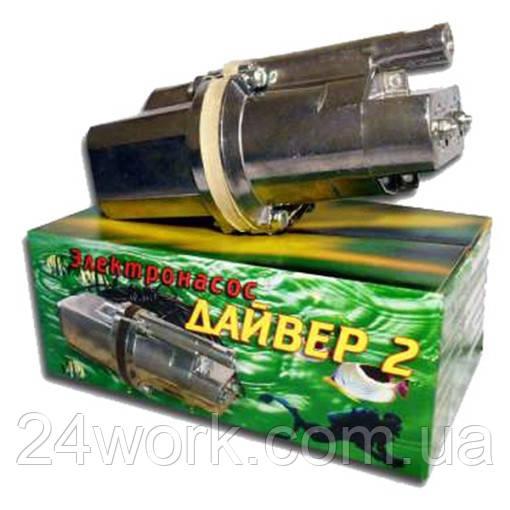 Водяной погружной вибрационный насос Дайвер 2 (2 клапана)