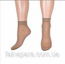 Капроновые носки женские бамбук 30den Бежевый