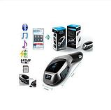 Автомобильный FM трансмиттер модулятор X5+ВТ Bluetooth, USB, фото 6