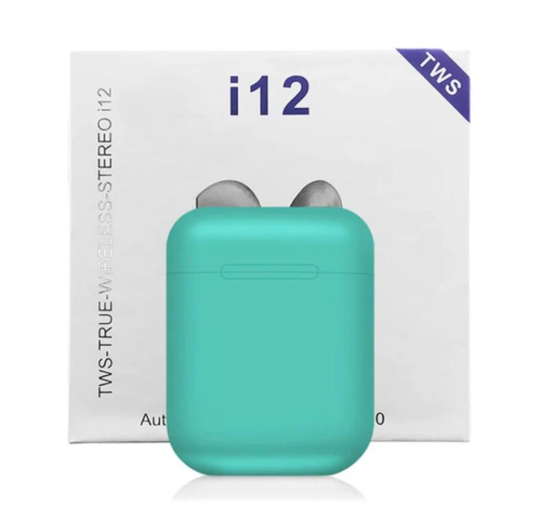 Беспроводные сенсорные наушники TWS i12 Mint