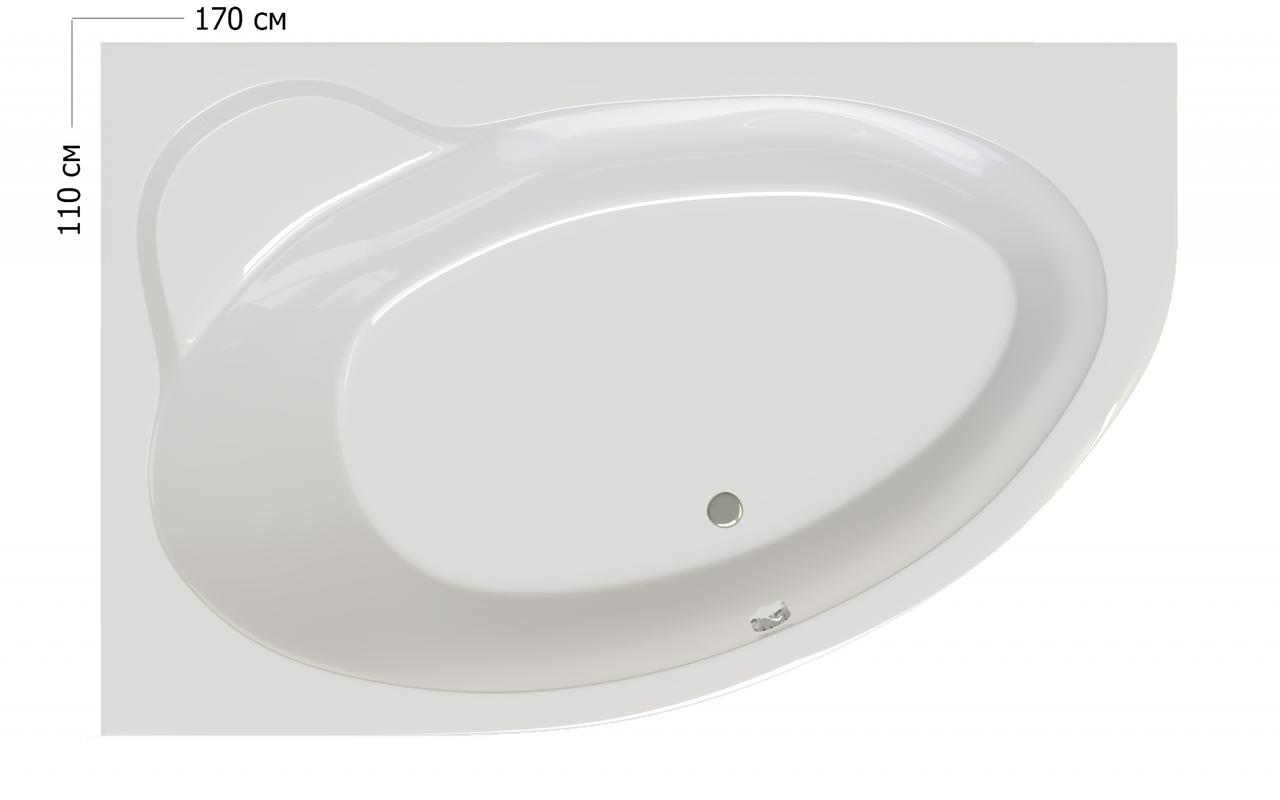 Ванна Ravak Asymmetric II 150 R