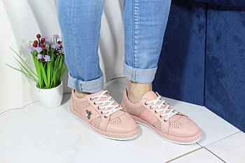 Женские стильные кроссовки Meldymoor 41M-pudra