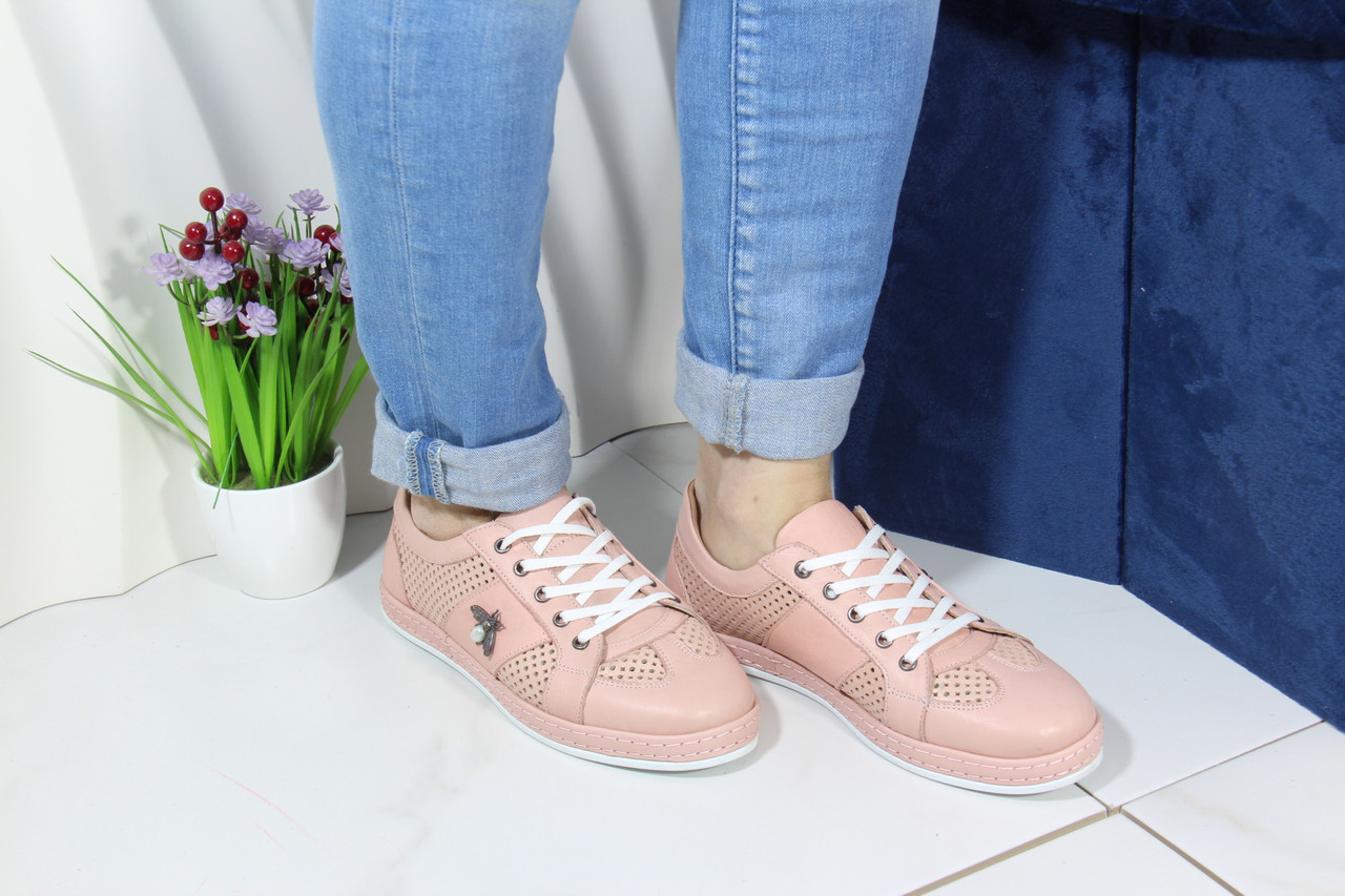 Жіночі стильні кросівки Meldymoor 41M-pudra
