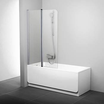 Шторка для ванны Ravak CVS2-100 transparent левосторонняя