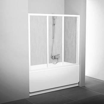 Шторка для ванны Ravak AVDP3-120 сатин transparent